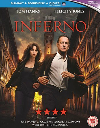 Inferno Blu-ray Review (2016)