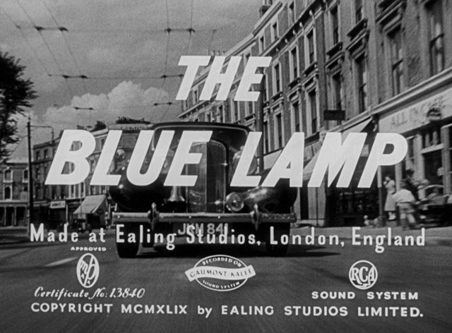 The Blue Lamp Blu-ray Review