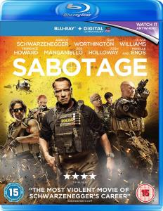 Sabotage Blu-ray Review (2014)