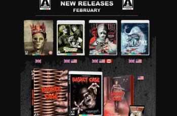 Arrow Video February 2018 Blu-ray Releases