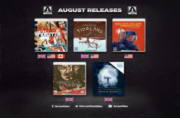 Arrow Video August 2018 Blu-ray Releases