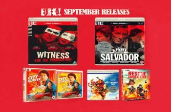 Eureka Entertainment's September 2018 Blu-ray Releases