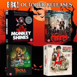 Eureka Entertainment's October 2018 Blu-ray Releases