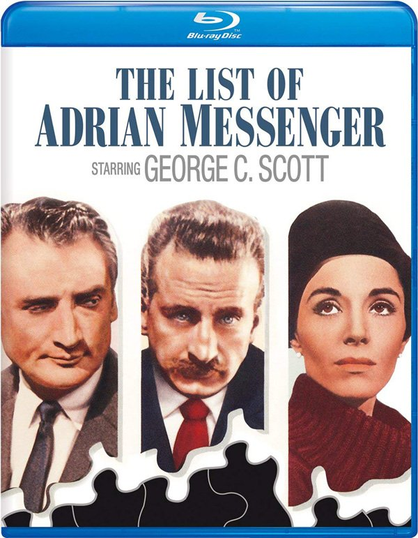 The List of Adrian Messenger (1963) Blu-ray Review - Import
