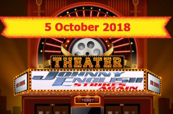 Cinema Releases 5 October 2018 - Johnny English Strikes Again