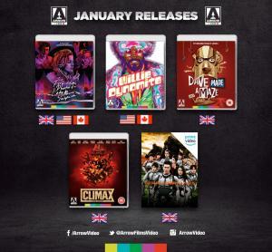 Arrow Video's Blu-ray Releases January 2019