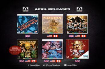 Arrow Video April 2019 Blu-ray Titles - John Carpenter?