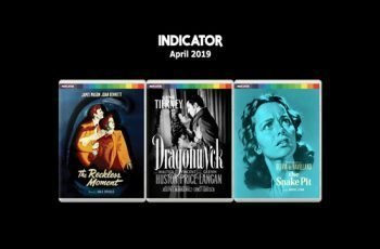 Indicator Announce 4 Blu-ray Titles for April including The Reckless Moment