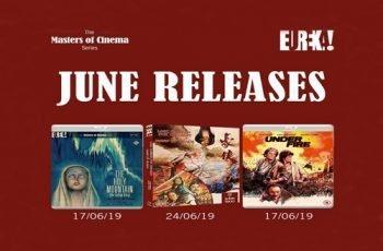 Eureka Entertainment June 2019 Blu-ray Releases