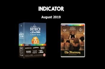 Indicator August 2019 Blu-ray Titles
