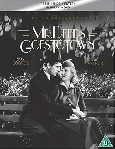 Mr Deeds Goes to Town Blu-ray Review