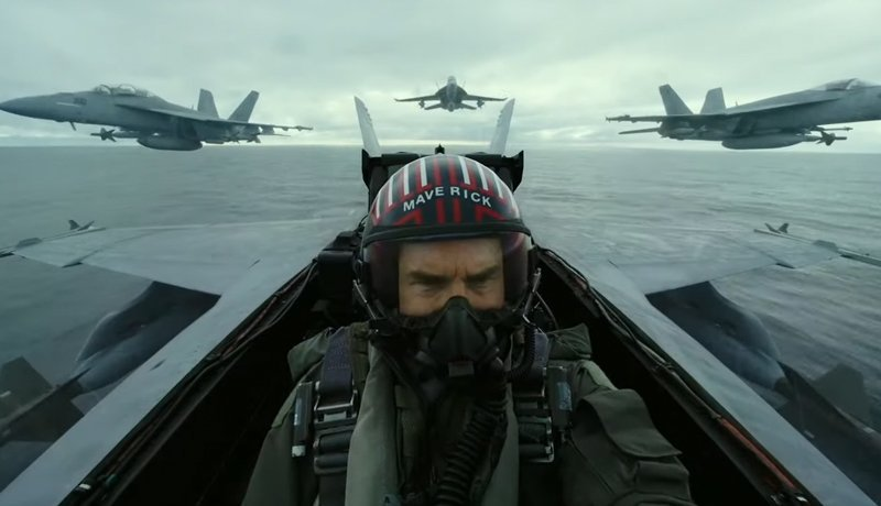 Top Gun Maverick Movie Trailer