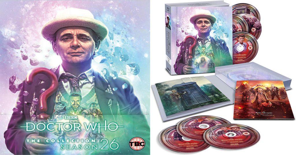 Doctor Who Season 26 Blu-ray