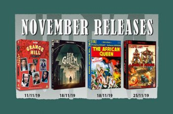 Eureka Entertainment November 2019 Blu-ray Releases