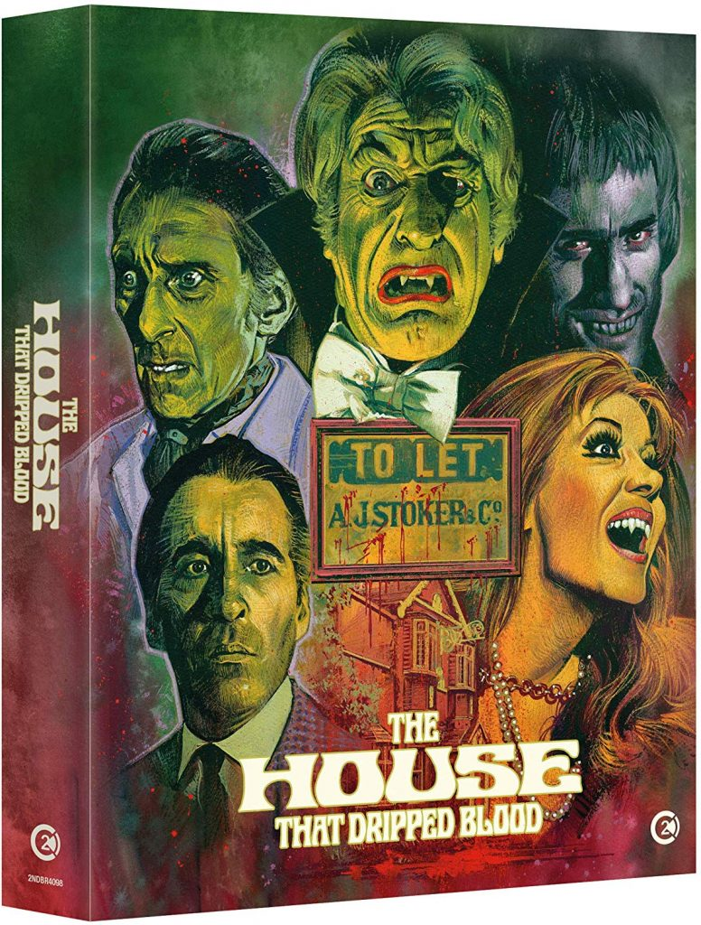 The House That Dripped Blood Blu-ray Review