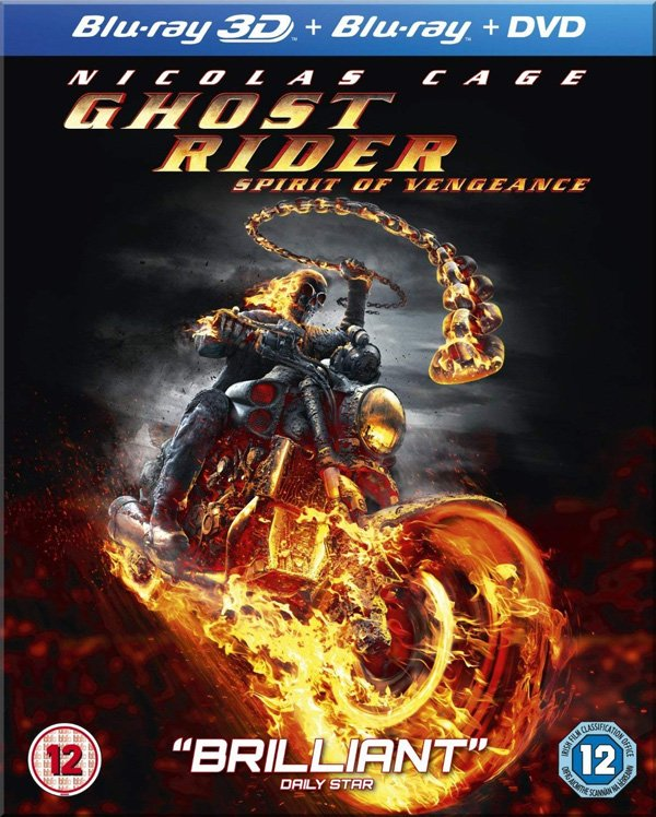 Ghost Rider: Spirit of Vengeance Blu-ray Review