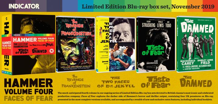 Hammer Volume Four: Faces of Fear Boxset