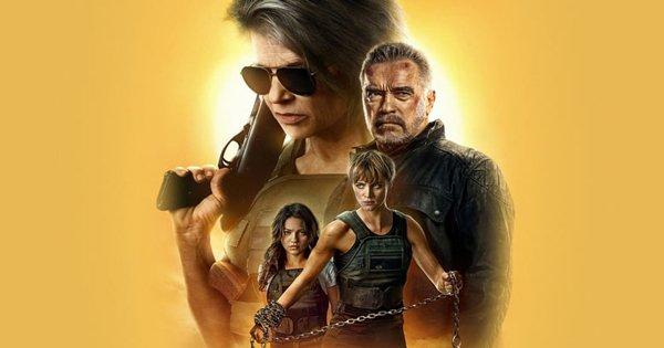 Terminator Dark Fate Blu-ray