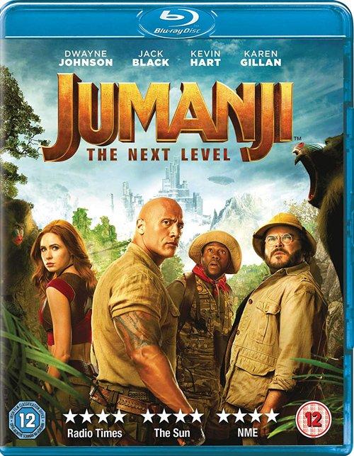 Jumanji The Next Level Blu-ray