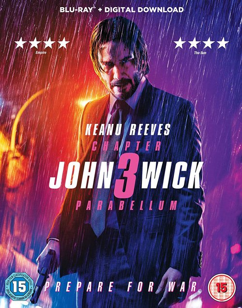 John Wick Chapter 3 Parabellum Blu-ray Review