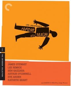 Anatomy of a Murder Blu-ray Review