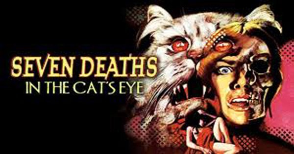 Seven Deaths In The Cat's Eye Blu-ray
