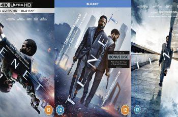 Christopher Nolan's Sci-fi Thriller Tenet blu-ray