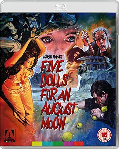 Five Dolls for an August Moon Blu-ray