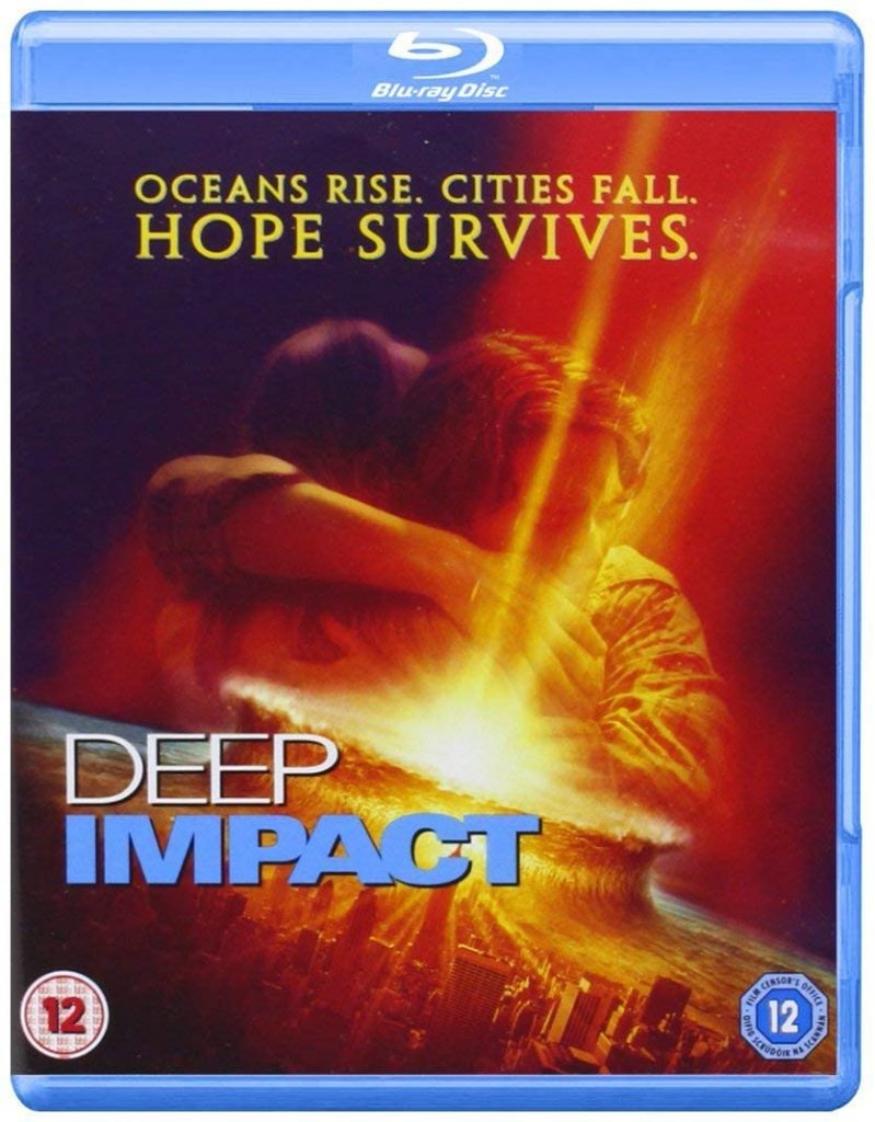 deep impact blu-ray review